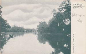 View of the Lehigh River, Bethlehem, Pennsylvania,00-10s