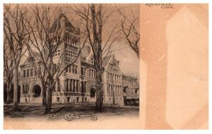 Connecticut Rockville , High School