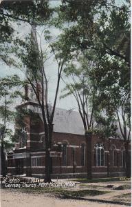 PORT HURON, Michigan, 00-10s; St. Johns German Church