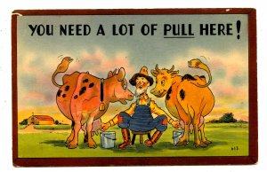 Humor - A lot of pull