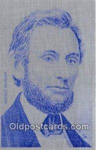 Abraham Lincoln Buffalo, NY, USA Unused