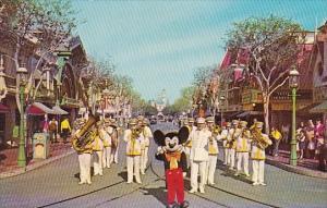 Mickey Mouse And Disneyland Band Disneyland