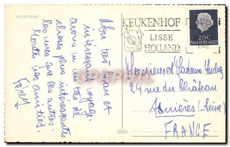 Modern Postcard Volendam