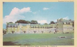 Pennsylvania Allentown Dormitory Muhleberg College Dexter Press