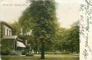 WI, Kenosha, Wisconsin, Prairie Avenue, E.C. Kropp 2608
