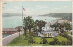 New York The Claremont and Hudson River Detroit Publishing