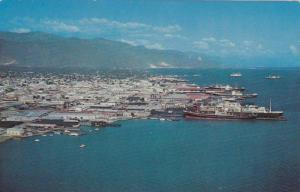 Kingston Water Front,Jamaica,W.I.,40-60s
