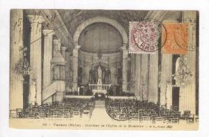 Interieur De l'Eglise De La Madeleine, Tarare (Rhône), France, PU-1919