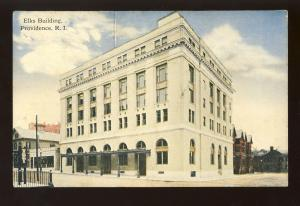 Providence, Rhode Island/RI Postcard, Elks Building