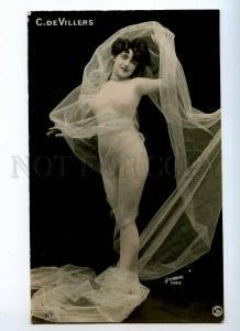 242928 CARMEN DE VILLERS Dancer BALLET Vintage PHOTO STEBBING