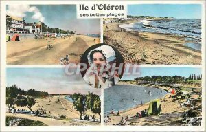 Modern Postcard Ile d'Oleron Children Folklore
