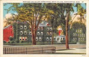 Massachusetts   Northampton   Smith College    Northup and Gillett Do...