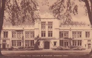 Kauke Hall College Of Wooster Ohio 1954