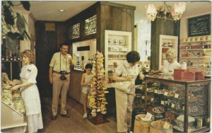 Vintage postcard, Captain Nye's Sweet Shop, Coshocton, Ohio