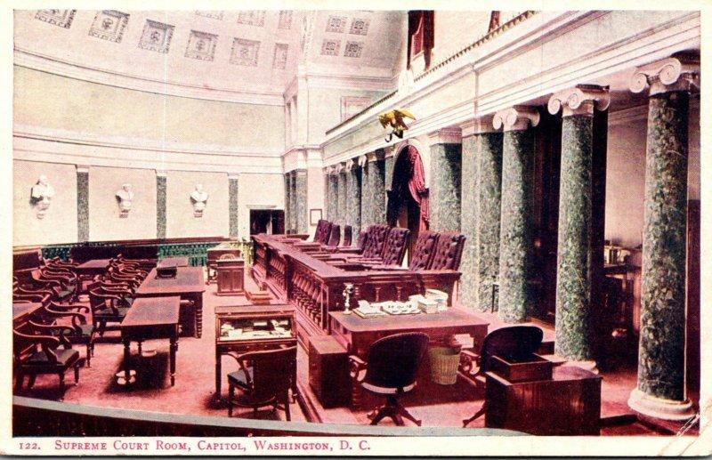 Washington D C Capitol Supreme Court Room