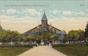 Ocean Pathway and Auditorium, Ocean Grove, New Jersey, 00-10s