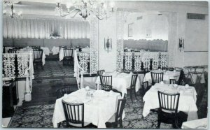 Oak Park, Illinois Postcard OAK PARK ARMS HOTEL Carolina Room Restaurant c1950s