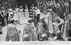 Coronation Day The Crowing of Her Majesty Queen Elizabeth Westminster Abbey 1953