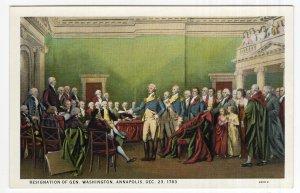 Resignation Of Gen. Washington, Annapolis, Dec. 23, 1783