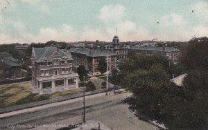 HAMILTON, Ontario, Canada, 1900-1910s; City Hospital And Nurses' Home