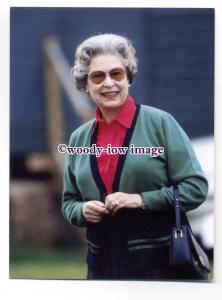 pq0136 - Queen Elizabeth at Royal Windsor Horse Show 1990 - postcard