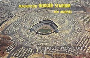 Baseball Stadium Postcard Los Angeles, CA, USA Dodger Stadium