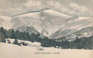 Winter on Mount Washington, White Mountains, New Hampshire - DB