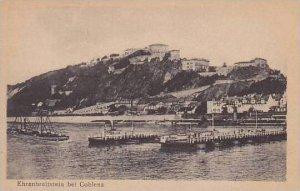 Germany Ehrenbreitstein Der Rhein
