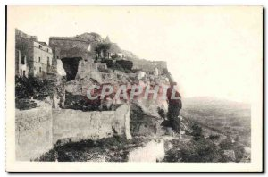 Old Postcard The Beautiful View Remparts and cross steeple Ravelin above Roma...