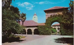 California Stanford East Gate Stanford University