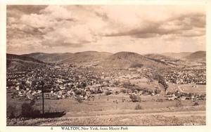 From Moore Park Walton, New York Postcard