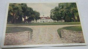 Bowling Green Entrance, Mount Vernon, Virginia Vintage Postcard Unposted 1915-30