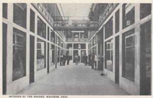 WAUSEON, Ohio, 1910-20s; Interior of the Arcade