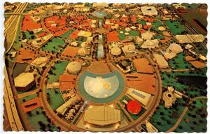 NY - New York World's Fair 1964-65. A Model of the World's Fair Site