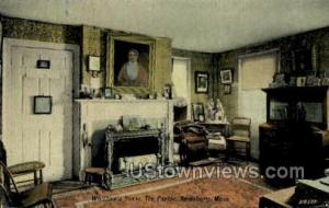 The Parlor, Whittier's Home Amesbury MA Unused