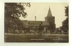 cu0500 - Hothfield Church , Kent - postcard