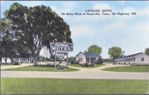 NASHVILLE - LOVELESS MOTEL ...View shows the complex / 1940s / 10 miles west