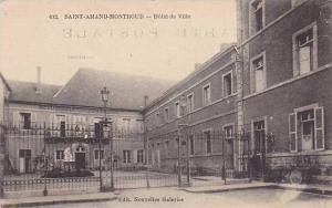Hotel De Ville, Saint-Amand-Montround, Cher, France, 1900-1910s