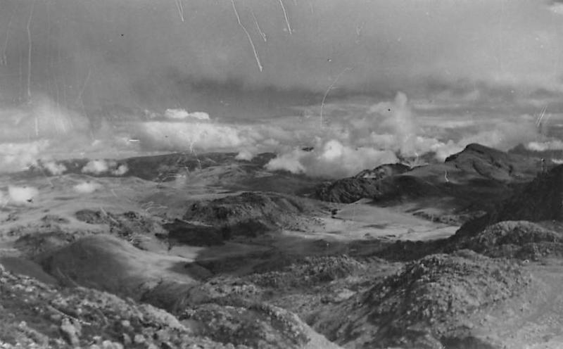 Zimbabwe, Southern Rhodesia, Melsetter, In Chimanimani Mts. air view panorama