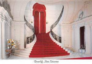 USA Rosecliff Main Staircase Belevvue Avenue Newport Grand Entrance