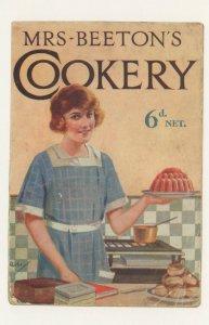 Mrs Beetons Cookery Book Postcard