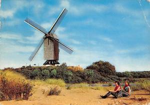 Belgium Koksijde Die Alte Muhle The Old Mill Moulin