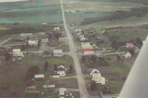 LEJEUNE, Quebec, Canada, PU-1984; Aerial View of Lejeune