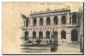 Old Postcard Toulon The Museum