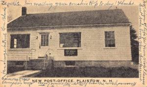 Plaistow New Hampshire New Post Office Vintage Postcard JD933739