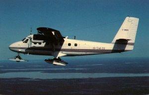 Air Tindi DeHavilland DHC-6 Twin Otter 300 Northwest Of Yellowknife