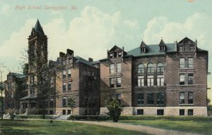 SPRINGFIELD, Missouri, 1900-10s; HIgh School