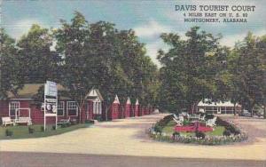 Alabama Montgomery Davis Tourist Court