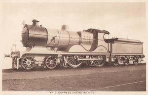 Southern Railway A 781 4-4-0 Express Engine No 751 Train Old Postcard