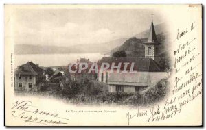 Old Postcard Lake Aiguebelette D